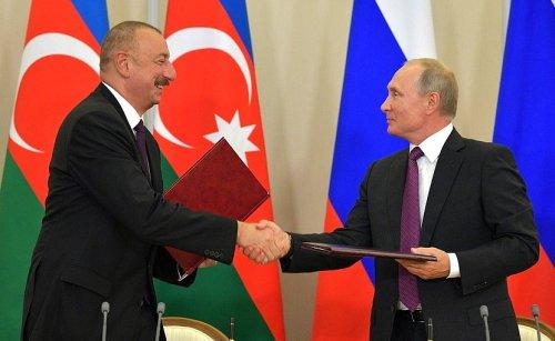 Putin, Aliyev Discuss Azerbaijan's Encroachment On Armenian Soil