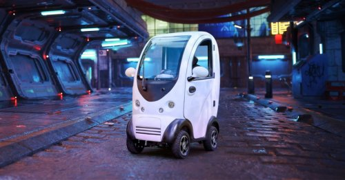 Awesomely Weird Alibaba Electric Vehicle of the Week: Tiny One-Seater Electric Car
