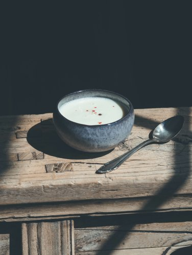 Spargelcreme Suppe aus Resten