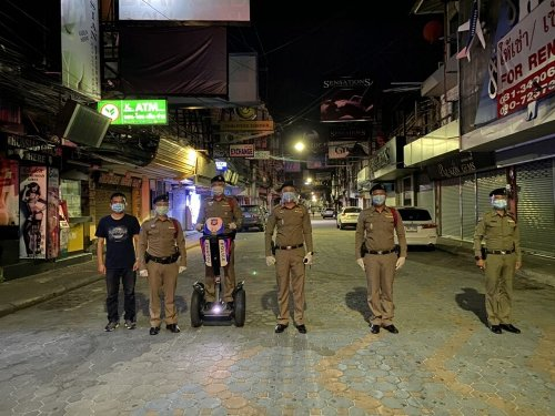 Pattaya law enforcement agencies warn businesses and customers that if they violate red zone rules they can face strict emergency decree laws - The Pattaya News