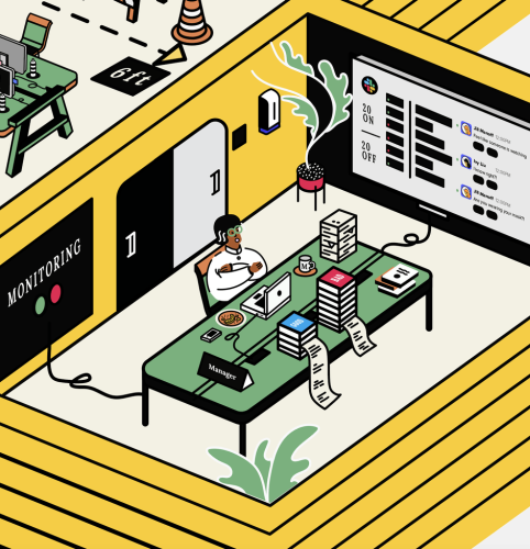 Hybrid hold-outs: Why some businesses are expanding traditional office workspaces - Digiday