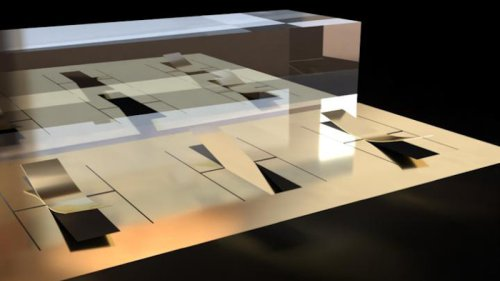 Kirigami-Style Fabrication May Enable New 3D Nanostructures