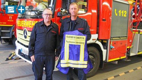 Feuerwehr-Spezialeinheit: Erste Hilfe für verletzte Seelen