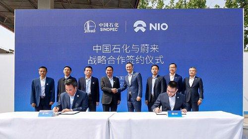 NIO Power Swap Station 2.0 in Betrieb genommen - Neue Partnerschaft mit Sinopec soll Nutzererlebnis der E-Mobilität optimieren