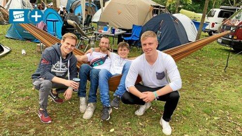 Traumzeit-Festival: So ist die Stimmung auf dem Campingplatz