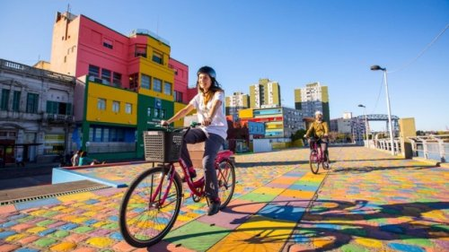 Eine Fahrradtour durch Buenos Aires