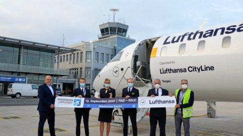Paderborn fliegt Drehkreuz München wieder an: Weitere Ziele