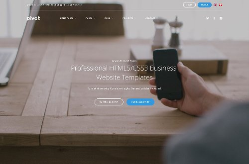 22 Top Business Website Templates (HTML5 & WordPress) 2020 –