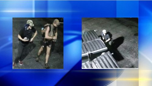 Pittsburgh police need help to identify two graffiti suspects