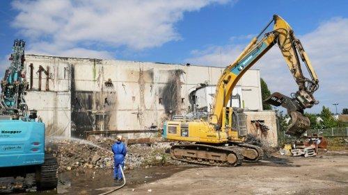Abriss der Weka-Ruine in Iserlohn ist gestartet