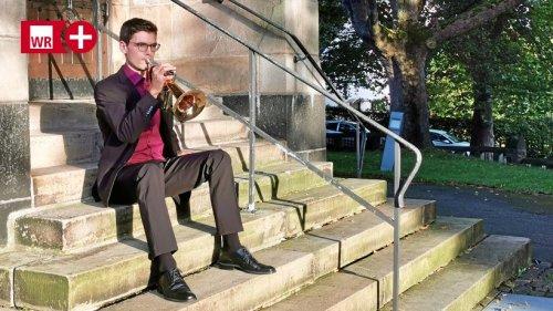 Wetter: Profi-Trompeter spielt Tröstendes bei Trauerfeiern