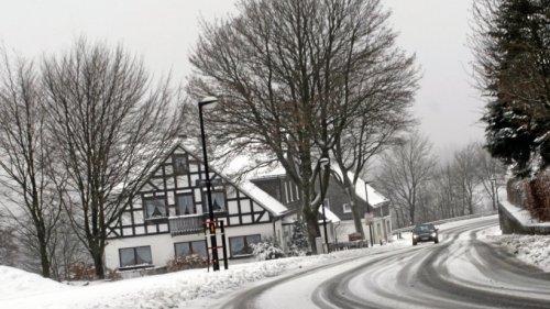 Erst Sonne – dann fällt wohl der erste Schnee im Sauerland