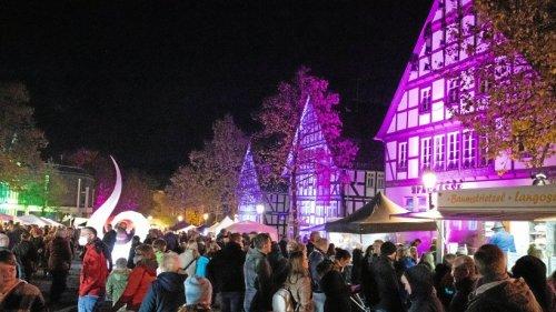 Hilchenbach: Mondscheinmarkt verzaubert die Besucher