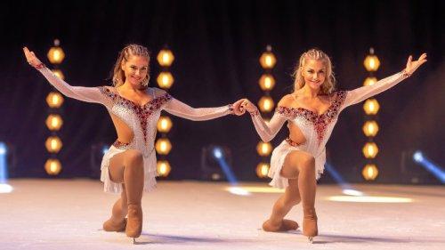 """Valentina und Cheyenne Phade laufen bei """"Holiday on Ice"""""""