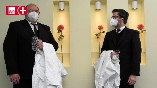 Iserlohn: Abschied nehmen unter Pandemie-Regeln