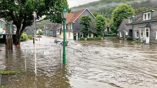 Beyenburg unter Wasser: Propstei bittet um Spenden