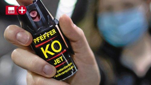 Gevelsberg: Radfahrer ohne Grund mit Pfefferspray attackiert