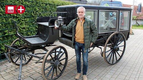Antike Leichen-Kutsche aus Wetter fährt ins Museum