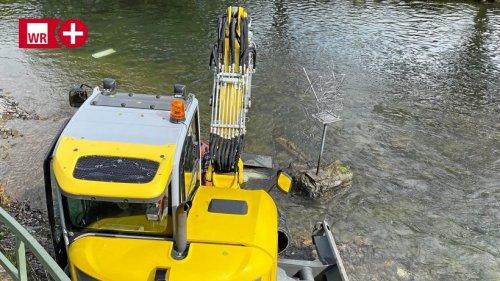 Nach Unwetter und Hochwasser ist der Mescheder Angler zurück