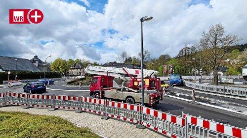 Bad Berleburg: Bauarbeiten am Nordknoten im Zeitplan