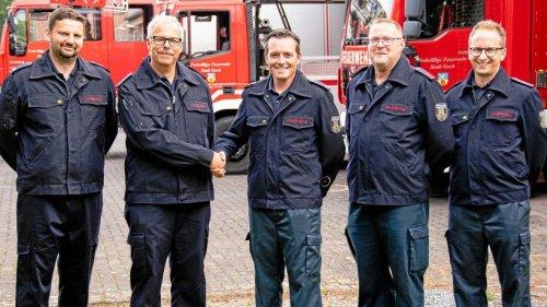 Goch: Eine neue Führung für den 1. Löschzug der Feuerwehr