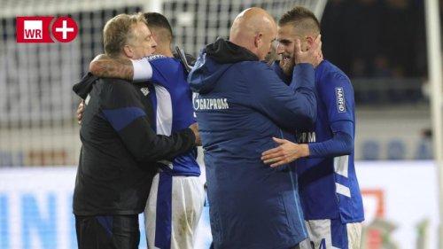 Schalke: Co-Trainer Mike Büskens nach Auswärtssieg emotional