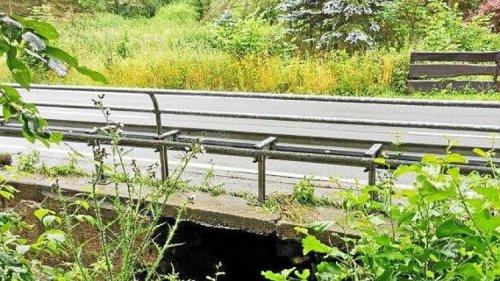 Grüner Talstraße in Iserlohn wegen Brückenschaden gesperrt