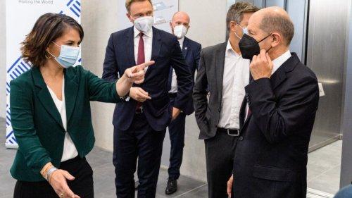 Koalition: Ampel kann kommen ++ SPD, Grüne und FDP wollen Koalitionsgespräche