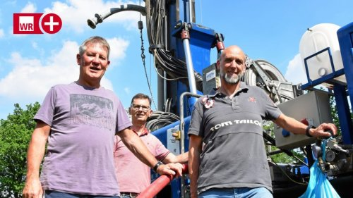 Trockenheit zwingt Drolshagener Dörfer zu Brunnen-Bohrung