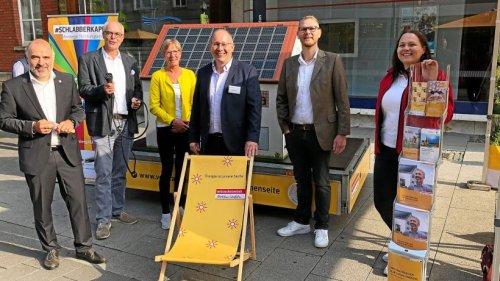 Arnsberg: Wie ein Sonnenkraftwerk auf dem Balkon entsteht