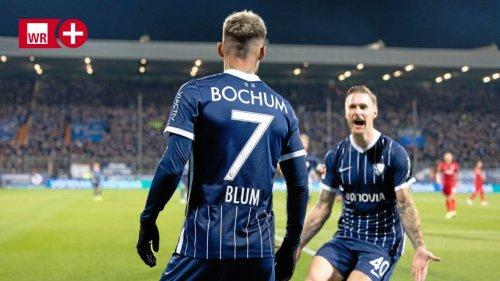 """VfL Bochum: Blum mit Traum-Comeback – und """"Gänsehaut"""""""