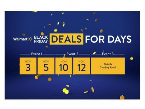 Walmart Early Black Friday Deals are live NOW!