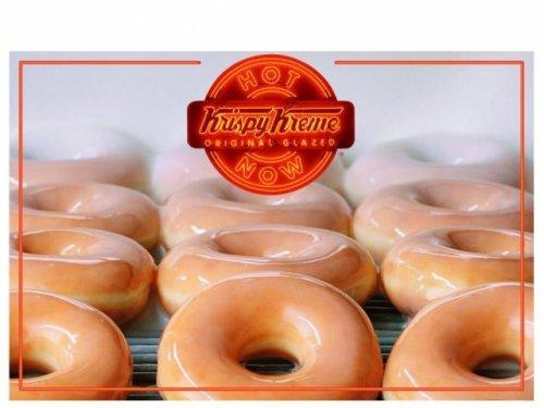 Krispy Kreme: Free coffee & doughnut today, May 10