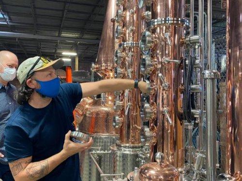 Foodie news: Downtown Raleigh distillery nears opening date