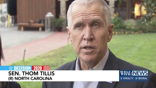 Tillis seeks to cut funds to schools that teach 1619 Project