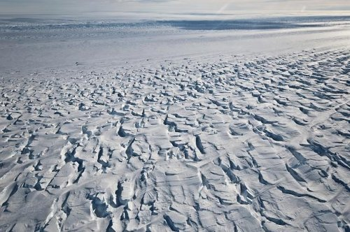 Ice shelf protecting Antarctic glacier is breaking up faster