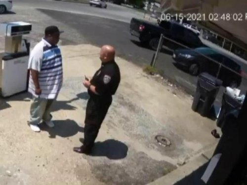 Surveillance video shows Newton Grove police chief shoot man after confrontation
