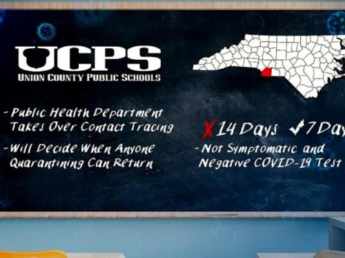 Union County reinstates COVID-19 precautions in schools after NC threatens legal action