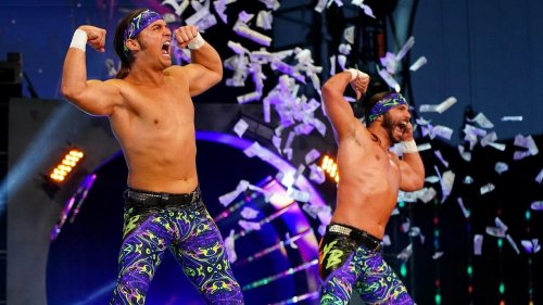 Young Bucks tease wrestling current WWE tag team