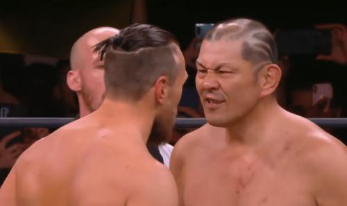 Bryan Danielson defeated Minoru Suzuki in an incredible hard hitting match during AEW Rampage: The Buy In