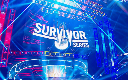 Match theme for WWE Survivor Series, another match set up for Crown Jewel