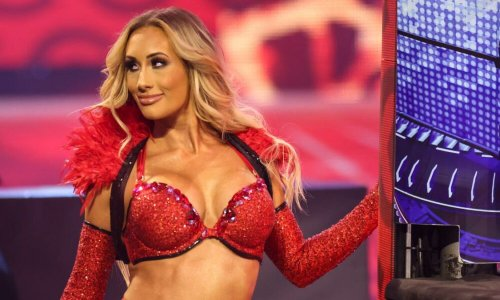 Carmella on The Rock's Instagram DM to her, making the best out of whatever WWE comes up for her