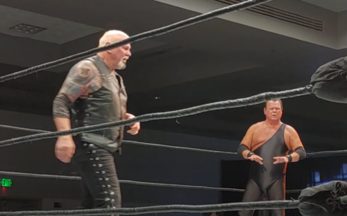 """Scott Steiner returned to the ring last weekend for a match against Jerry """"The King"""" Lawler"""