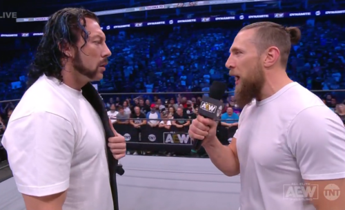 Kenny Omega accepts Bryan Danielson's challenge for a dream match