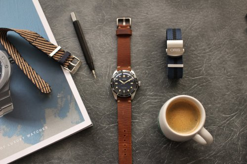 Spending time: Oris Divers Sixty Five