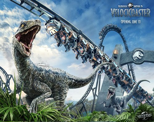 Jurassic World VelociCoaster to open at Universal in June