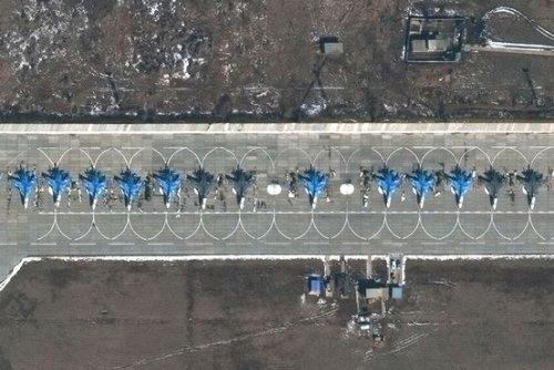 Satellite Images Show Russia's Expanding Ukraine Buildup
