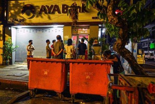 Myanmar Faces Empty Factories, Closed Banks