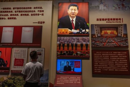 Opinion | Xi's Rewriting of History Won't Stay in China