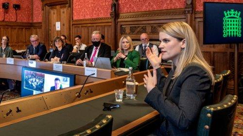 Facebook Whistleblower Frances Haugen Testifies Before U.K.'s Parliament